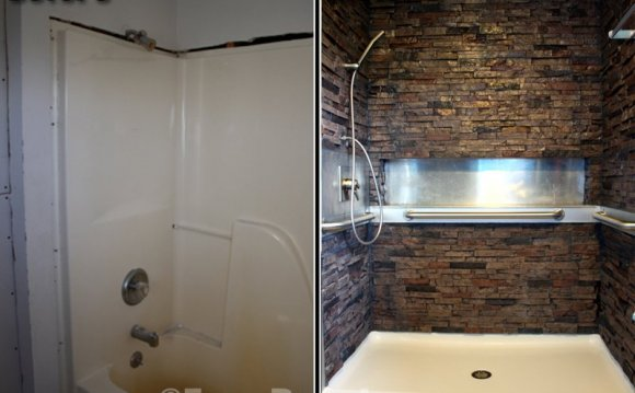 Waterproof bathroom wall