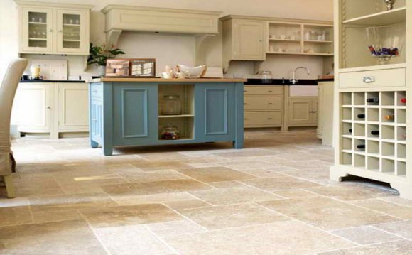 Cosy kitchen tile floor ideas