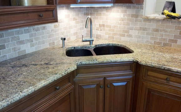 Stone Mosaic Tile Backsplash