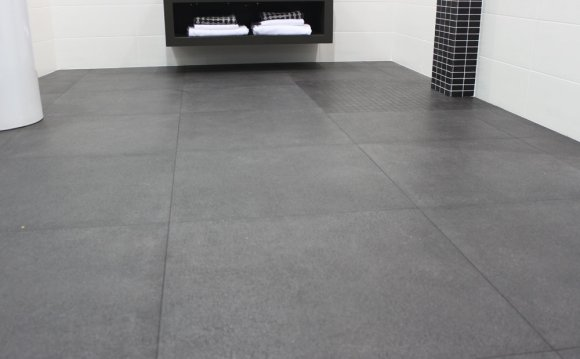 Grey Stone Floor Tiles From