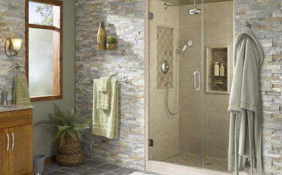 Deco stone designs bathroom