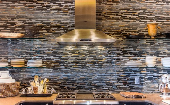 Shelves Glass Stone Tile