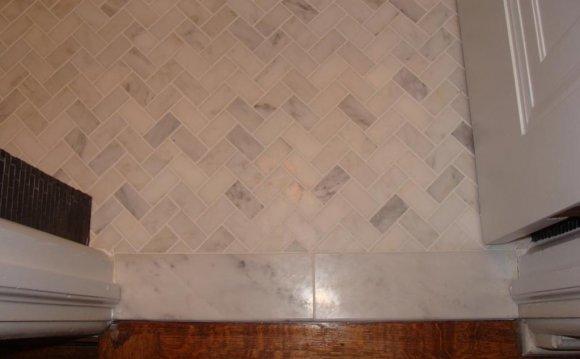 Minimum subfloor for marble