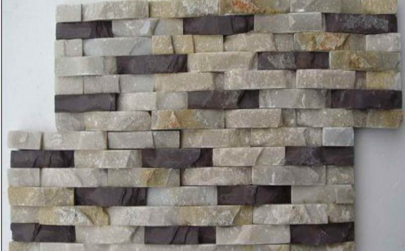 Image of: Stacked Stone Veneer