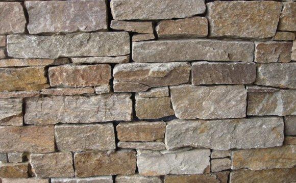 Stone veneer exterior