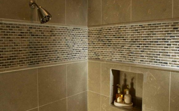 Complete Shower Area with