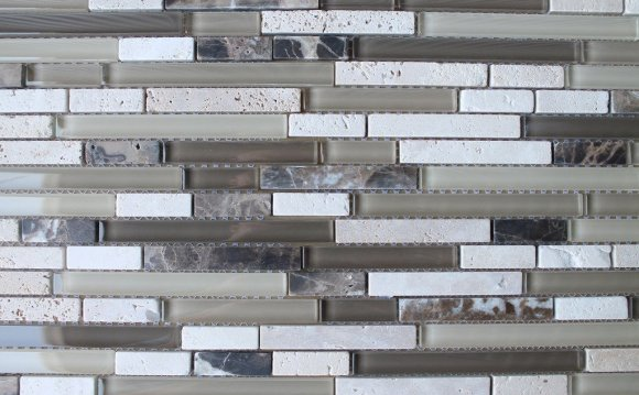 Bliss glass and Stone Tile