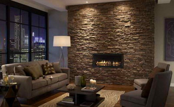 Best stone Tile fireplace design