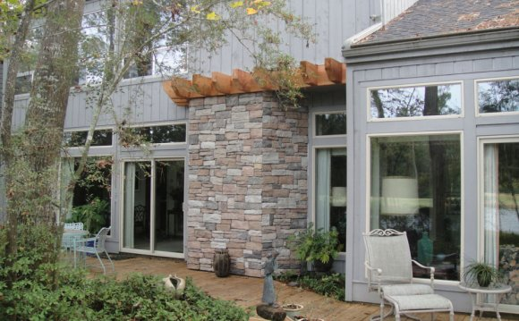 Using Stone Tile for exterior siding