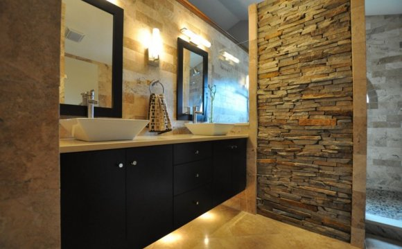 Stone wall tiles in Nigeria