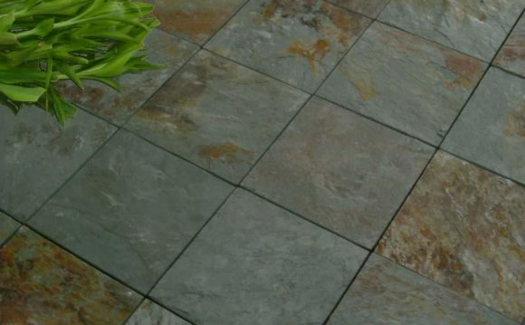 Outdoor Slate tiles for Patio