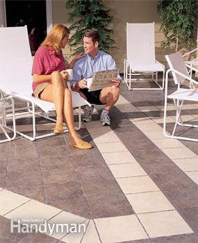 Good preparation and great products are key to creating an outdoor patio with ceramic tile.
