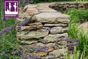 Natural Drystack Rubble stone-wall with Mortared Cap picture: Chris Miracle