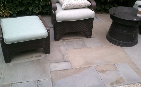 Blue stone outdoor Tile