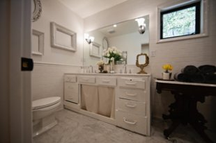 picture features Subway Tile in white