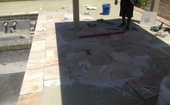 Travertine Tile Over
