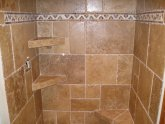 Stone tile shower maintenance