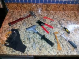tools to eliminate old Tile