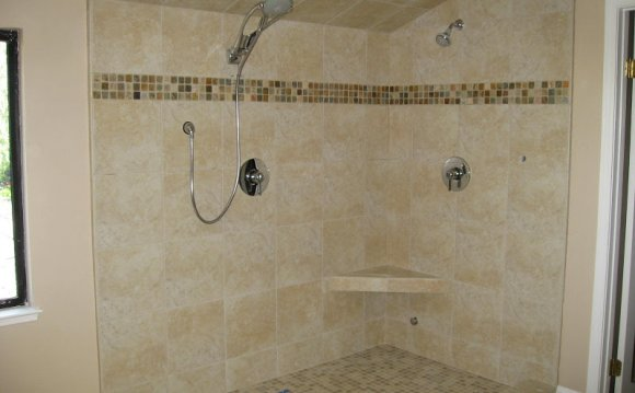 Installing Travertine Tile Shower Floor Stone Installers - How to waterproof a shower floor before tiling