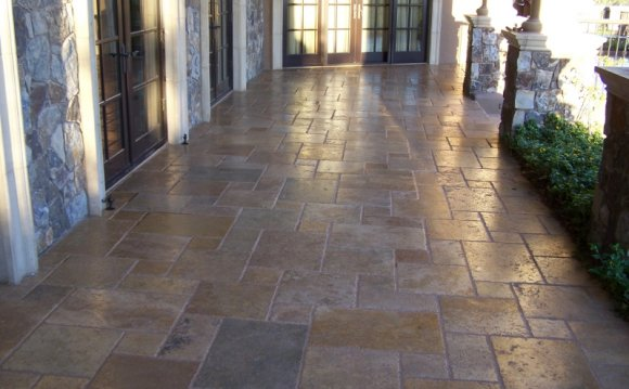 Travertine Stone Tiles, Sealing