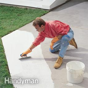 you might need crack separation membrane layer when creating an outdoor patio with porcelain tile.