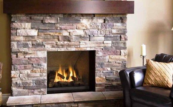 Stacked Stone Veneer Fireplace Cost
