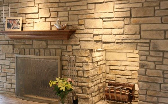 Faux Stacked Stone tiles