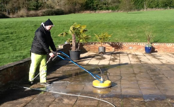 Cleaning Sandstone tiles