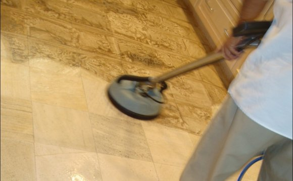Cleaning Tumbled stone Tile